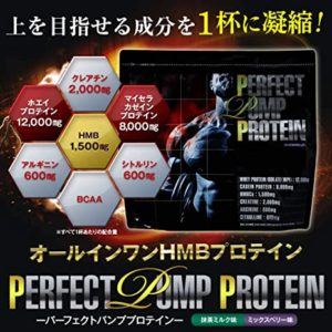 パーフェクトパンププロテインの成分解説